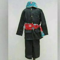Baju abang jakarta// L & XL