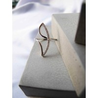 Dearme - LEAH Ring (S925 Silver with Zirconium Crystals)
