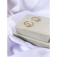 DearMe - SIENNA Ring (S925 Silver with Crystals & 18KGold Plating)