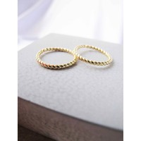 DearMe - ASLEY Ring (S925 Silver with 18K Gold Plating)