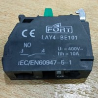LAY4 CONTACT BLOCK kontak blok NO NC NONC push emergency selector