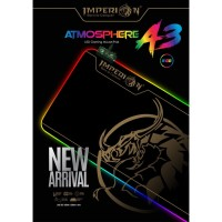 Mousepad Gaming Imperion Atmosphere A3, 800mm x 300mm x 4mm RGB