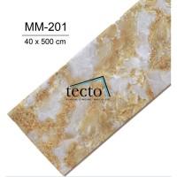 TECTO Plafon PVC Premium MM-201 ( 40 cm x 500 cm )