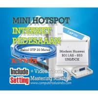 Paket Mikrotik internet pedesaan dengan Modem Huaweii B311AS Unlock