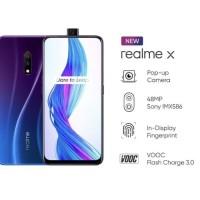 Realme X 4/128 GB .Ram 4GB internal 128GB.GARANSI RESMI - BIRU