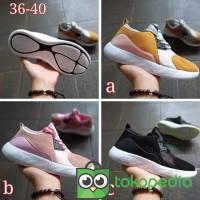 LV - Sepatu Running Nike Air Zoom Vogue Terbaru - Hitam 40