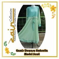 Gamis Dewasa Umbrella Model Serut