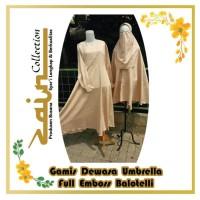 Gamis Dewasa Umbrella Full Emboss