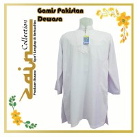 Gamis Pakistan Dewasa Putih