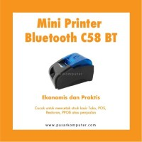 Mini Printer Bluetooth C58 BT