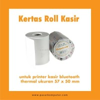 Kertas Roll Thermal ukuran 57 x 50 mm