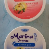 MARINA UV WHITE BODY SCRUB 200ml