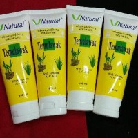 PEELING GEL SCRUB /SPA TEMULAWAK V Natural Exfoliating Serum Gel BPOM