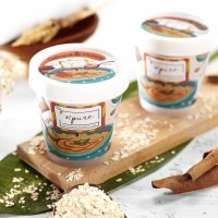 Npure Sugar Body Scrub Oatmeal Honey / Lulur gula BPOM dan Original