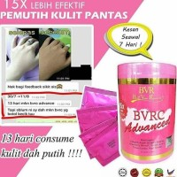 bvrc advance free bvr gold scrub belle collagen pemutih original 100%