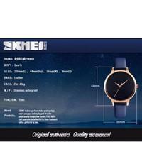 skmedi 9141 tali kulit jam tangan wanita original anti air 30m