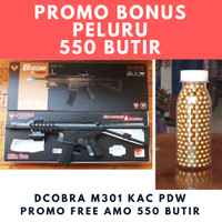 Dcobra M301 KAC PDW Popor Lipat Premium Series