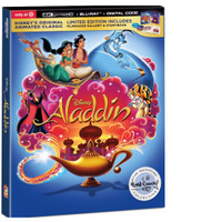 Aladdin 1992 Target exclusive 4k uhd bluray