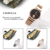 Emporio Armani Strap Magnet Watch F0167 Jam tangan Wanita