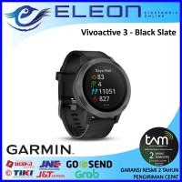 SMART WATCH GARMIN VIVOACTIVE 3 BLACK SLATE RESMI TERMURAH