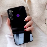 Case Xiaomi Redmi note 8 Backcase Glass Anti Gores Kaca Tempered