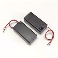 Battery Holder 2 x AA , 2 x 1.5 Volt, dilengkapi dengan sakelar on/of