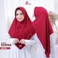 Hijab Instan Jilbab Bergo Demina Kerudung Remaja Trendi (Bisa COD)