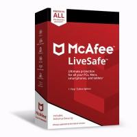 McAfee LiveSafe Antivirus ORIGINAL 10-Device 1-Year Subscription