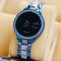 jam tangan wanita fossil digital model terbaru 2019