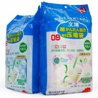 Vacuum Bag Kantong Plastik Simpan Barang Tahan Air Isi 8 Free Pompa 3