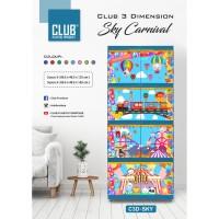 lemari plastik Club 3 Dimension 4 Susun