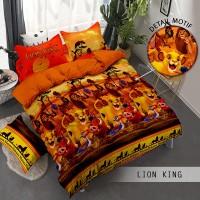 Sprei Monalisa Premium Lion King 120x200