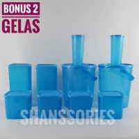 Paket toples Bulat biru SBMG 2244