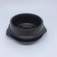 Dolsot Ddukbaegi Hot Pot Claypot Bibimbap Korea Bowl 15 cm Besar Tuk P