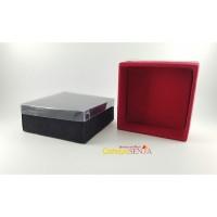 Kotak Aksesoris Tempat Aksesoris Bros Kotak Box Beludru 8x8cm isi 12 b