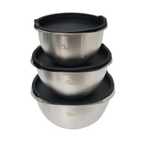 Oxone OX-048 Stainless Steel Mixing Bowl 3pcs