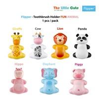 Flipper Toothbrush Holder Fun Animal Tempat Sikat gigi