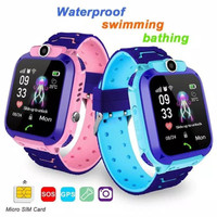 Dennos W33 WATERPROOF Kids Smart Watch Q12 Q12B Anak Jam Tangan