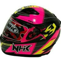 HELM NHK RX9 MOTIF FLUO PINK