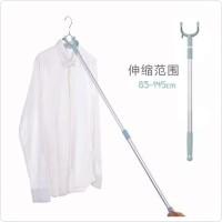 Gantungan Baju -- TONGKAT PENGAIT GANTUNGAN BAJU ALAT HANGING PAKAIAN