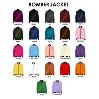 Jaket Pria / Sweater Pria -- CARTEXBLANCHE BOMBER UNISEX FUSCHIA