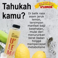 Sari Lemon U'lemon / Juice lemon