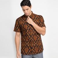 [Arthesian] Kemeja Batik Pria - Izan Batik Printing