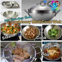 ATOMY Medi.Cook Wok 32cm/5.4L