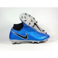 Sepatu Bola Phantom VSN Academy DF Metalic Blue FG Replika Impor