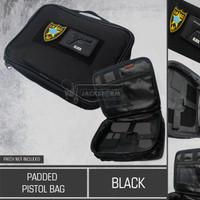 Padded Pistol Bag Black