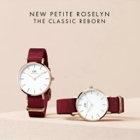 Dw Petite Roselyn Canvas Merah Uk 28 32
