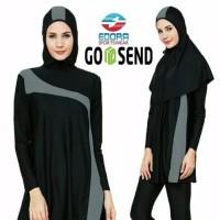 Baju Renang Muslim Muslimah Premium Dewasa ES-FCM-004 - M