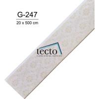 TECTO Plafon PVC Import G-247 ( 20 cm x 500 cm )