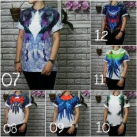 T-Shirt / Kaos Wanita -- Baju Kaos Oblong Wanita Tshirt Distro Cewek